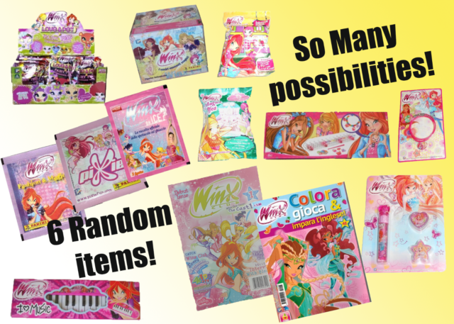 Surprise Toy /& Panini Stickers!! Winx Club Debut Issue 1 The Castle Comic Book