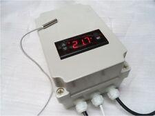 REGOLATORE di velocità ventilatore digitale SILENZIOSO nessun ronzio motore controllo automatico della temperatura