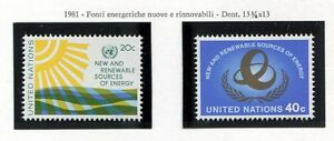 19162-UNITED-NATIONS-New-York-1981-MNH-Renewable-energy