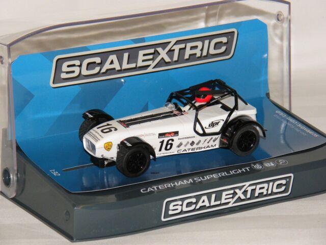 Scalextric Caterham Superlight R300-S (C3723) - Slot Car - analog - 1:32