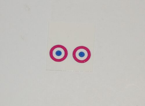 """/""""French Insignia/"""" Dinky//Corgi Aircraft Roundel Decals 7mm Fits Many #280"""