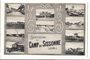 Komplett-Set-20-Feldpostkarten-des-Lagers-von-Sissonne-Aisne-1-Weltkrieg