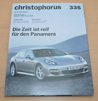 Porsche Christophorus Nr. 335 Magazin 12/08 Boxster Cayman