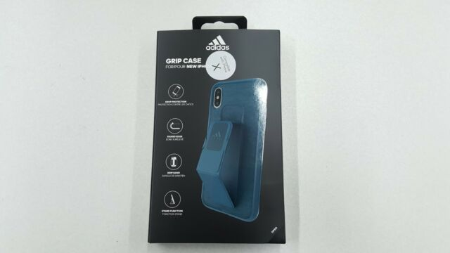 best website ba4a8 7305e adidas Performance Grip Case Cover for Apple iPhone X iPhone XS Navy ...