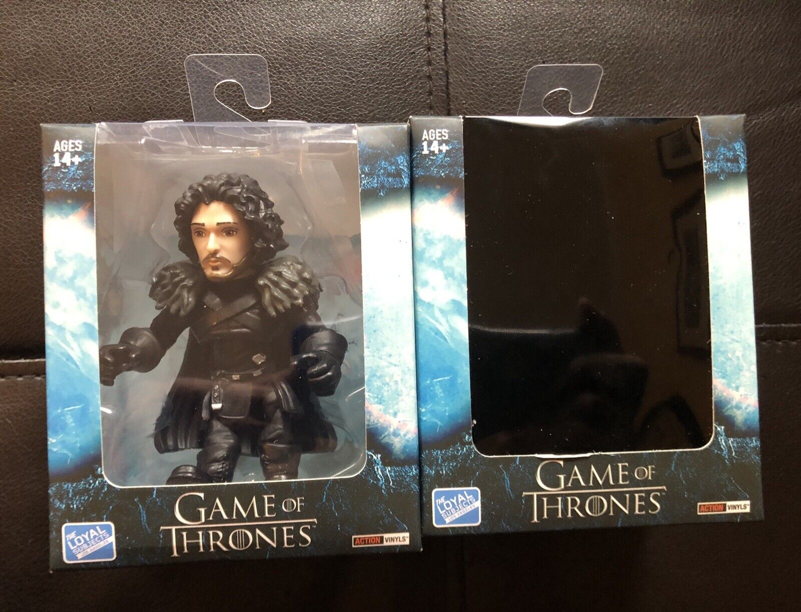 2 Loyal Subjects Game Of Thrones Figures Jon Snow & Daenerys Targaryen Blind Box