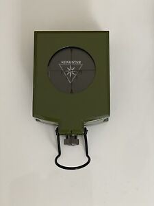 Kompass Profi Marke Konusstar Neu Mit Tasche