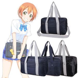 Image Is Loading Fashion Anese School Student Bookbag Handbag Shoulder Crossbody