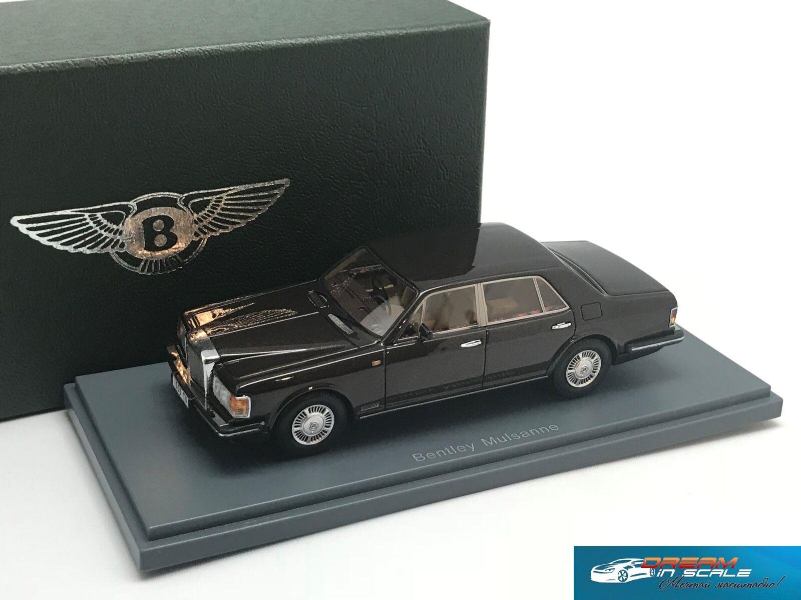 Bentley Mulsanne Turbo Marronee se reunió 1982 NEO44170 1 43