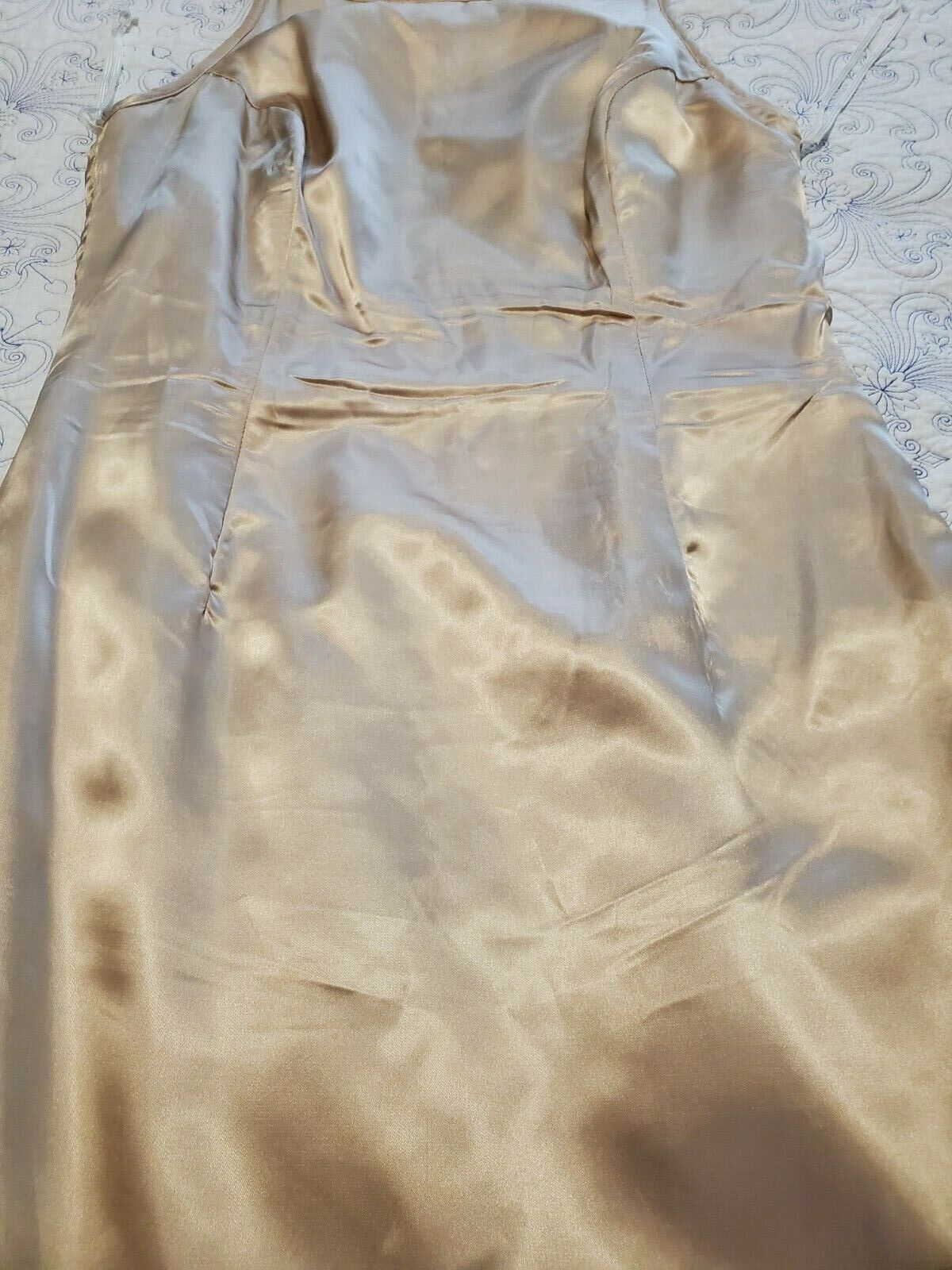 jessica mcclintock Dress Womens Size 8 Gold with … - image 8