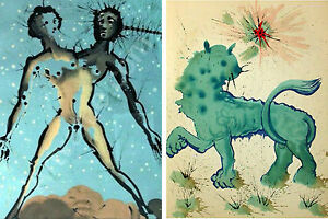 Set-of-x13-Salvador-Dali-Zodiac