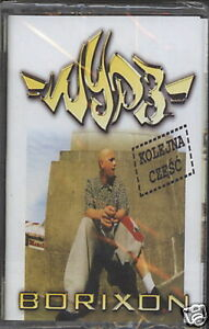 mc-WYP3-BORIXON-KOLEJNA-CZESC-polish-hiphop-sealed-audio-cassette-tape