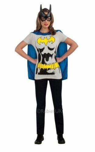 Les chauves-souris T-shirt femme costume DC Comics Marvel Super-héros Fancy Dress Outfit