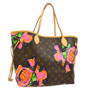 LOUIS-VUITTON-NEVERFULL-MM-SHOULDER-TOTE-BAG-MONOGRAM-ROSE-M48613-AK31714d