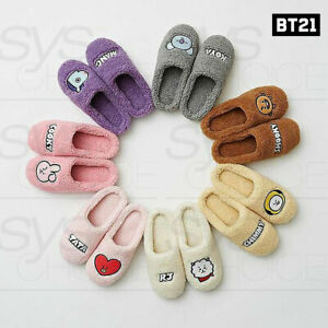 BTS-BT21-Official-Authentic-Goods-Pure-Winter-Slipper-Tracking-Number