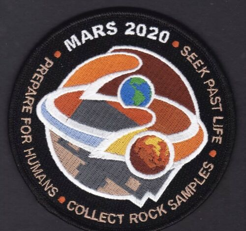 MARS 2020 PERSEVERANCE ROVER NASA JPL Exploration Program Mission PATCH