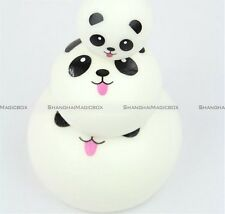 3pcs/lot Cute Panda Squishy Kawaii Buns Bread Cell Phone Straps Charms S3
