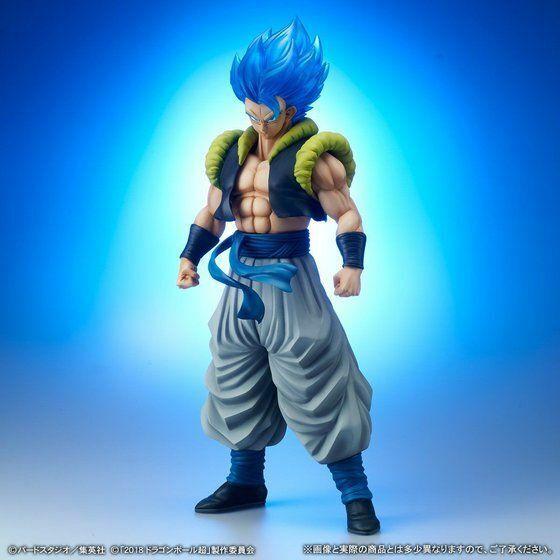 X-PLUS Gigantic Series Super Saiyan God Super Saiyan Gogeta figure 45cm