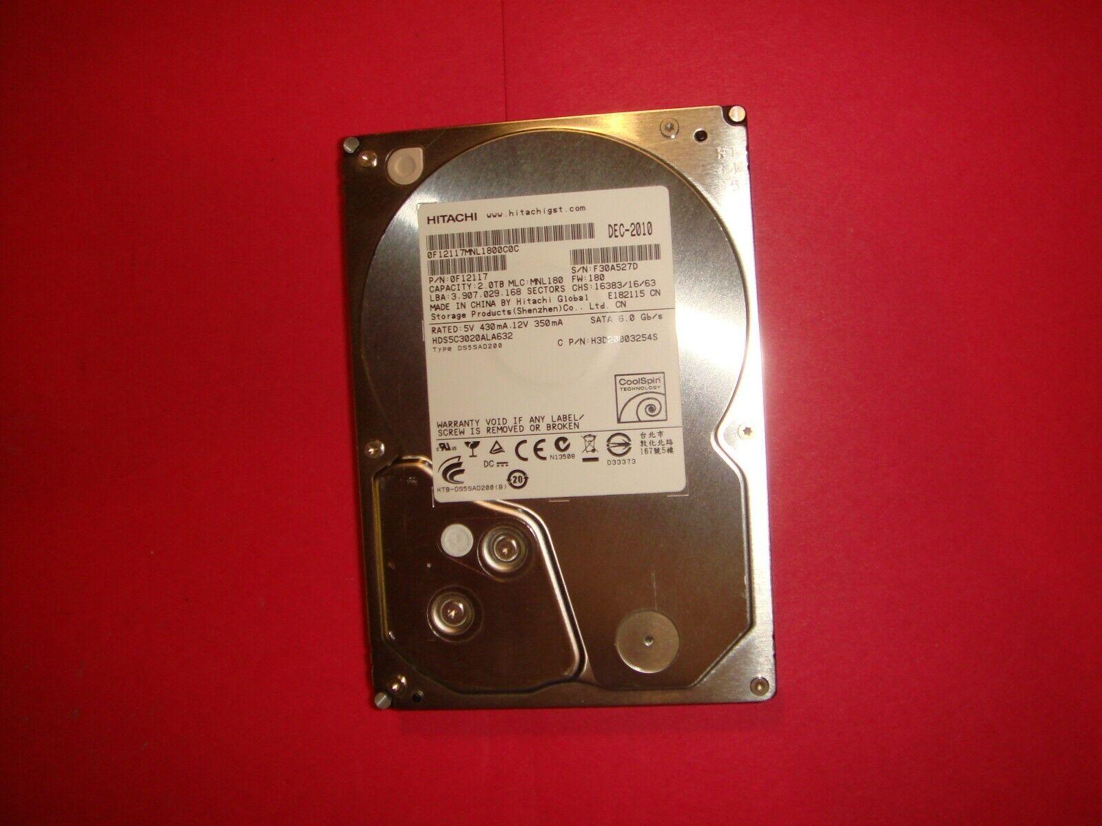 0F12116 Hitachi 1.5Tb 3.5Inch Hard Drive