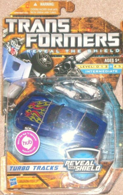 Transformers G1 Reveal the Shield Deluxe Tracks MOSC