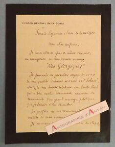 L-A-S-1922-Jean-Baptiste-NATALI-ecrivain-corse-Serra-di-Scopamene-Aullene-Lettre