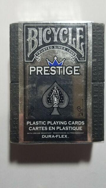 Bicycle Prestige Dura-Flex Plastic Playing Cards 1 Sealed Blue Deck High Qual