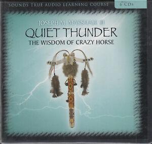 Quiet-Thunder-Wisdom-Of-Crazy-Horse-Joseph-M-Marshall-III-6CD-Audio-Book-Lessons