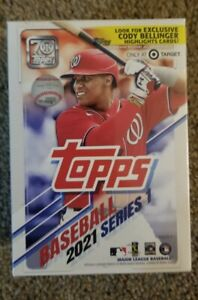 2021 Topps Series 1 Blaster Box - NEW Factory Sealed - 7 Packs + Relic /RC's 🔥⚾