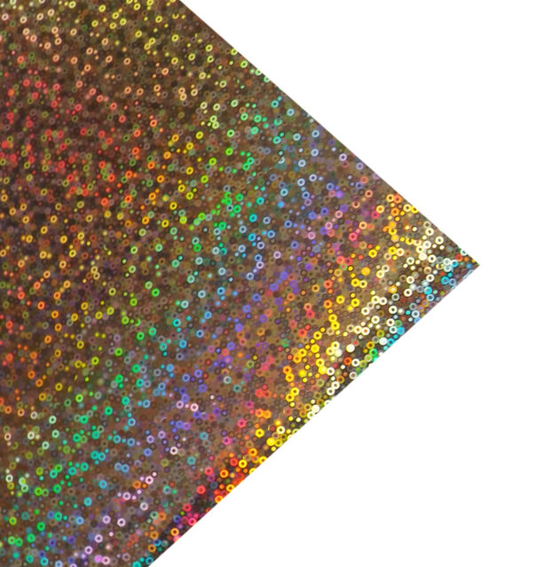 BUY 2 GET 1 FREE! 1m ROLL HOLOGRAPHIC IRIDESCENT STICKY BACK PLASTIC SIGN VINYL