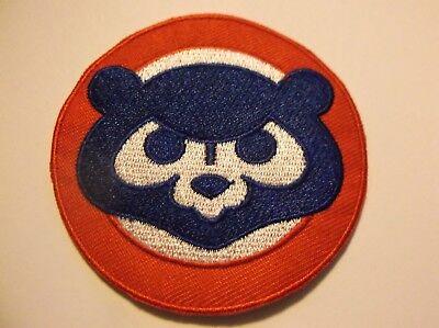 In QualitäT Nachdenklich Chicago Cubs Bestickt Patch ~ 2 1.4cm Rundes ~ Zum ~ Mlb ~ Schiffe Gratis Ausgezeichnete