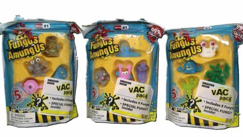 Champignon amungus 3 x VAC Packs 5 FUNGUYS dans chaque-LOT 1 Neuf Scellé