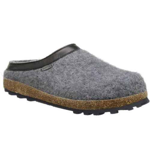 Giesswein Chiemsee Ardoise Femme Laine À Enfiler House Shoes Slippers Mules
