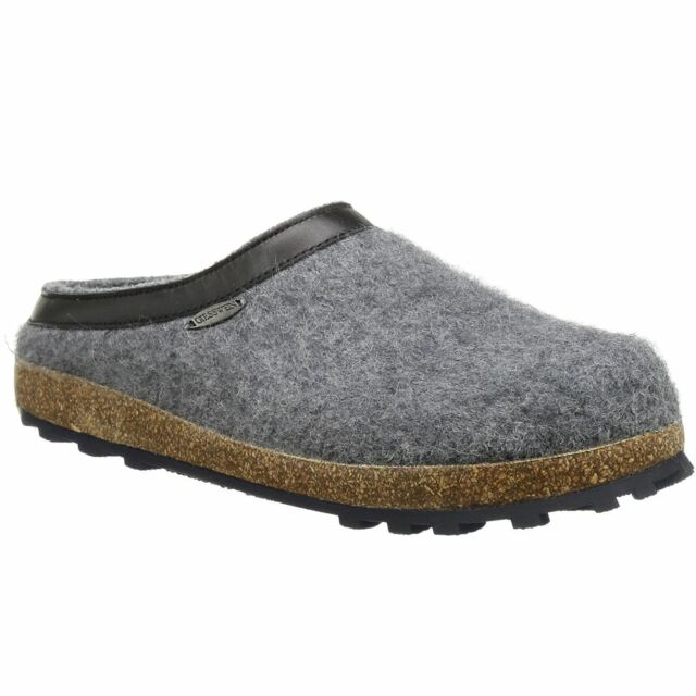7fbe05577a9a1 Giesswein Chiemsee Slate Womens Wool Slip on House Shoes Slippers Mules