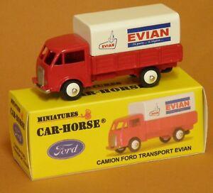 Car-Horse-Camion-Ford-bache-huile-de-France-Antar-jante-Dinky