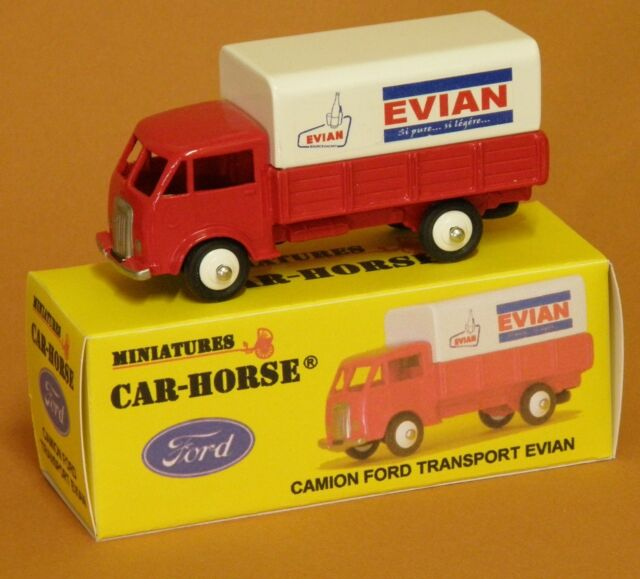 Car-Horse Camion Ford bâche huile de France Antar  jante Dinky