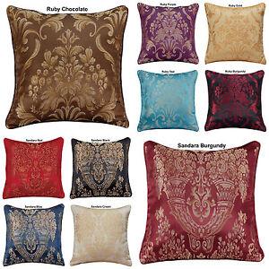 New-Decoration-Home-Cushion-Covers-Sofa-Cushion-Jacquard-18-034-x18-034-In-10-Colours