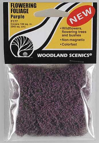 Woodland Scenics Flowering Foliage Purple F177