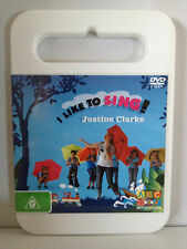 ABC FOR KIDS ~ JUSTINE CLARKE ~ I LIKE TO SING ~ DVD ~ ALMOST AS NEW ~ FREE POST