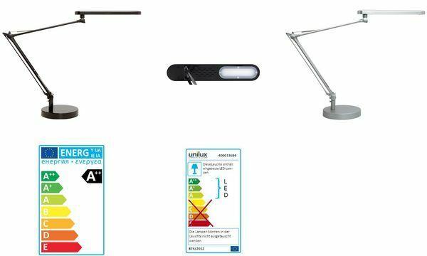 ti renderà soddisfatto UNILUX LED-Lampada da tavolo Mambo, colore colore colore  NERO  moda