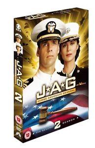 JAG Complete - Season 2 David Suchet 4-Discs Box set New Sealed and Region 2 DVD