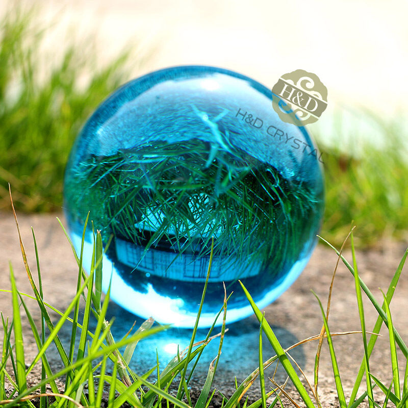 New Natural Quartz Green Magic Crystal Healing Ball Sphere 60MM+Stand