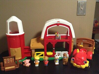 barn+more Fisher Price animals NEW Little People Farm toy set farmer tractor
