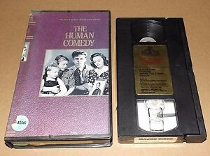 The-Human-Comedy-vhs-Mickey-Rooney-Donna-Reed