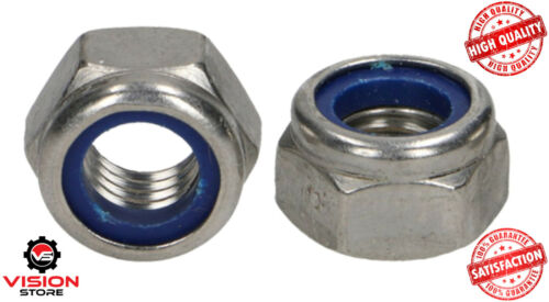 3MM NYLOC NYLON INSERT LOCKING NUTS FOR SCREWS AND BOLTS M3