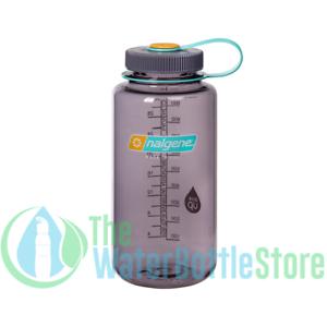 Nalgene 32oz Wide Mouth BpA Free Plastic Tritan Water Bottle Screw Cap Aubergine