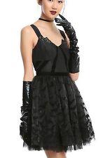 Gotham Knights Batman Formal Prom Black Dress Sequin Bodice Size Extra LArge