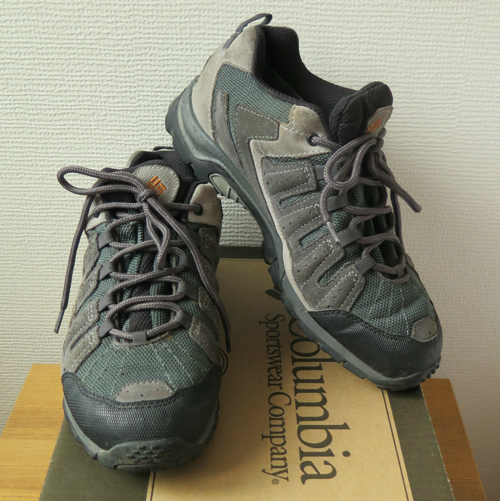 COLUMBIA grau Herren WALKING HIKING Schuhe | Gore-Tex | BM 3184-028 | EU 41 UK 7