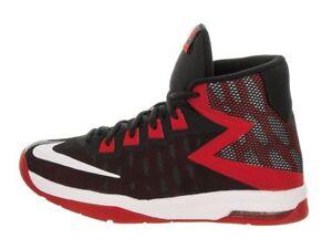 1d335769a71c Nike Big Kids  AIR DEVOSION GS Shoes Black Red 845081-003 a