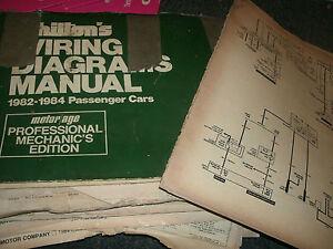s l300 1983 chrysler cordoba dodge mirada wiring diagrams schematics sheets