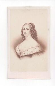 Vintage-CDV-Anne-Genevieve-de-Bourbon-Duchess-of-Longueville-Desmaisons-Photo