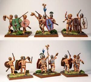 Battle Flag - 28mm Gallic Shields set 8 Ancient